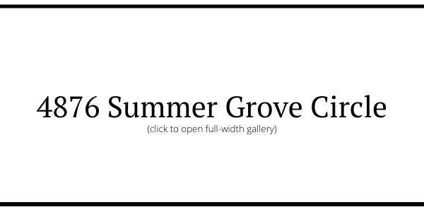4876 Summer Grove Circle, Fairfield